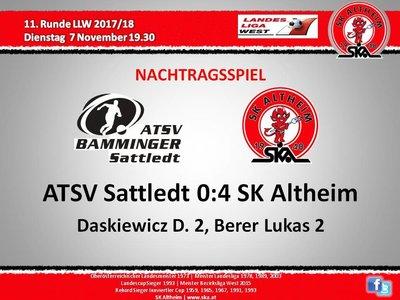 SKA Sattledt 2017Herbst