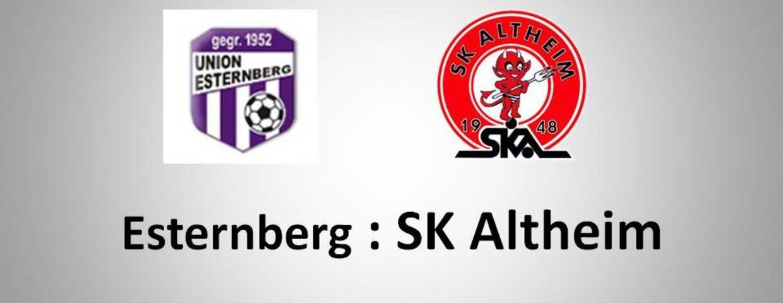 Niederlage in Esternberg !
