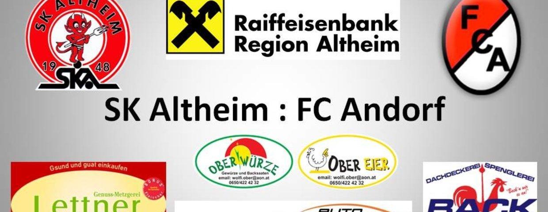 5:1 gegen Andorf verloren
