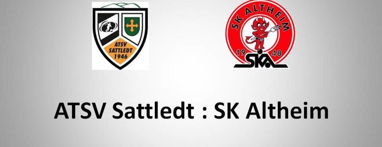 Sattledt 1:0 SK Altheum