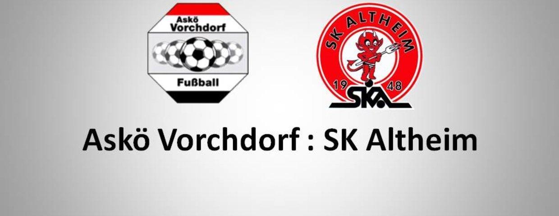 Vorchdorf 0:2 SK Altheim