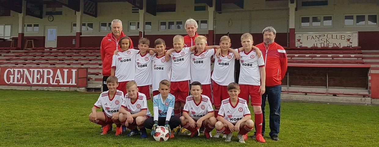 U12 Champions Trophy die Roten Teufel spielen gegen AC Parma