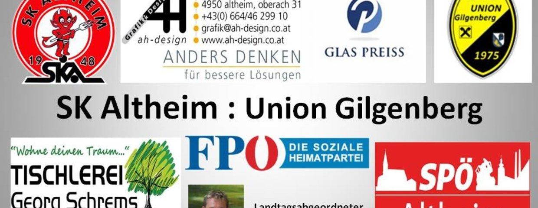 SK Altheim 1:0 Union Gilgenberg