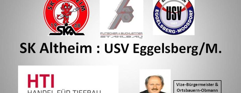 SK Altheim 4:2 USV Eggelsberg/M.