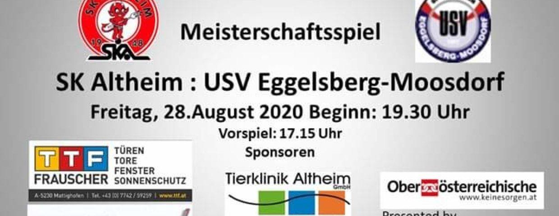 Niederlage gegen Eggelsberg