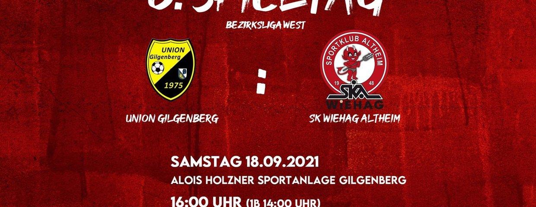6. Spieltag in Gilgenberg