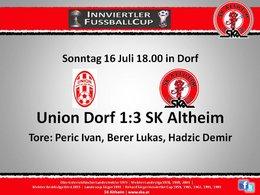 Union Dorf 1:3 SK Altheim