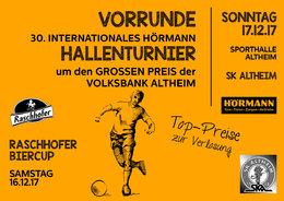 Vorrunde 30. Hörmann-Hallenturnier / 12. Raschhofer Biercup